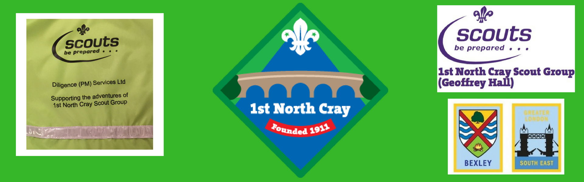 1st North Cray Scout Group logo